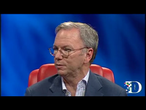 Eric Schmidt talking at all things digital 2011