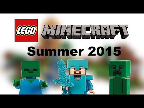 LEGO Minecraft Summer 2015 sets list