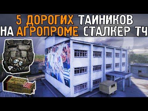 5 самых дорогих тайников. Сталкер - Тень Чернобыля. НИИ Агропром.