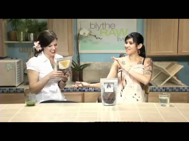 Ariane Resnick Discusses Rawk-n-Roll Cuisine - Blythe Raw Live
