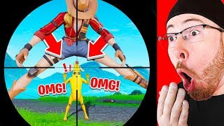 REACTING TO 200 IQ PLAYS IN FORTNITE!!