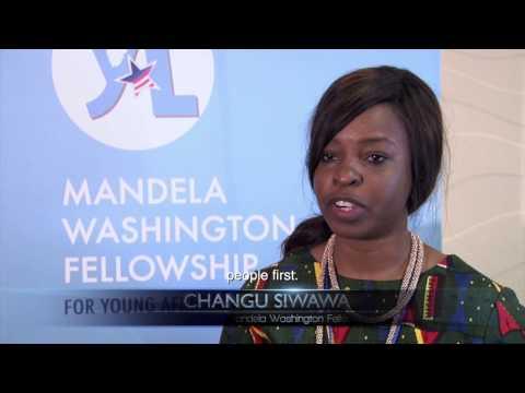 Mandela Washington Fellowship: Living the Legacy
