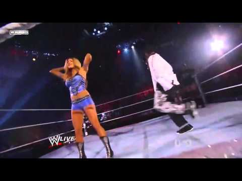 Maryse Ted DiBiase vs Eve Torres R-Truth - Song And Dance Match