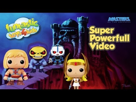 EPIC Video He-Man vs.Skeletor from Masters Of The Universe, She-Ra flying on a My Little Pony