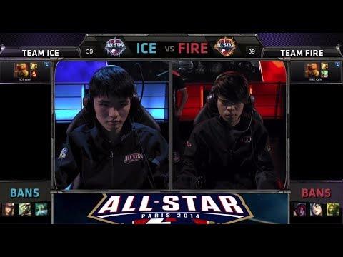 Cool Lee Sin vs QTV Lee Sin 1 v 1 | Team Ice vs Team Fire | All-star Challenge Paris 2014 Day 4