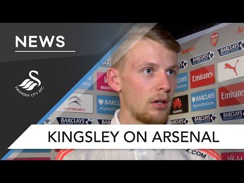 Swans TV - Kingsley on Arsenal
