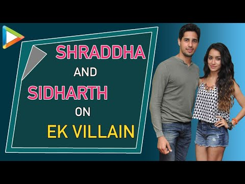 Shraddha Kapoor And Siddharth Malhotra Fun Interview On Ek Villain Part 1
