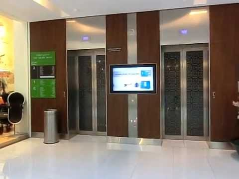 Schindler MRL Elevator @Dubai Mall, Dubai UAE