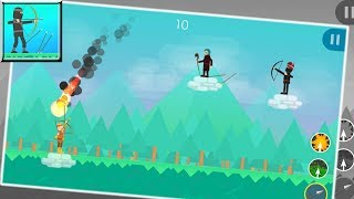 Funny Archers - 2 Player Games (by DreamZ) / Android Gameplay HD