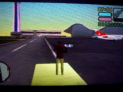 MISTERIO COMO SUBIRSE A UN AVION EN GTA VICE CITY STORIES PSP