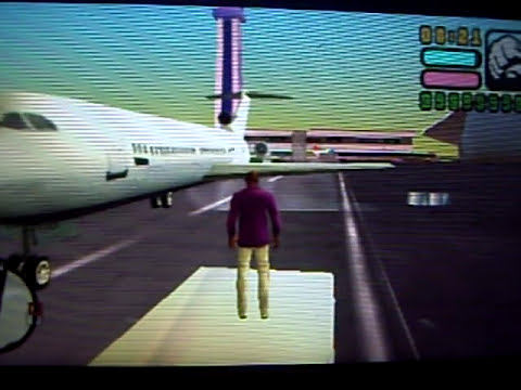 MISTERIO COMO SUBIRSE A UN AVION EN GTA VICE CITY STORIES PSP