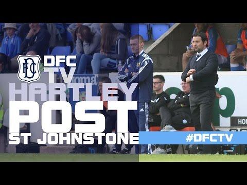 Paul Hartley post St Johnstone