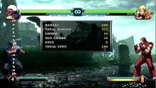 [KOF XIII] Mr Karate 1 Bar 0 drive confirm