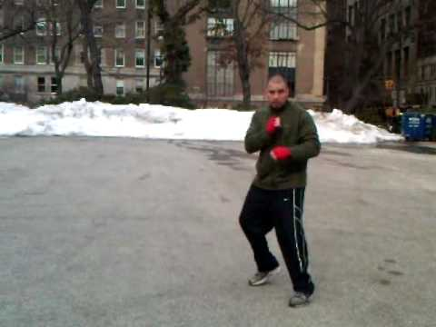 BOXING FOOTWORK DRILLS - BASIC BEGINNER TECHNIQUES WITH COACH NELSON Image 1