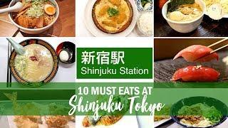 10 Must Eats At Shinjuku Tokyo ?? - Favourite Restaurants & Cafes In Shinjuku