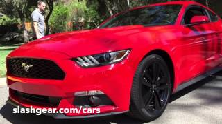 Hello: 2015 Ford Mustang!