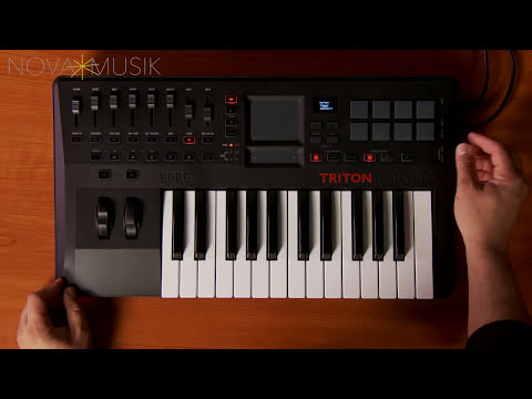 Nova Musik - Korg TRITON taktile overview with Rich Formidoni