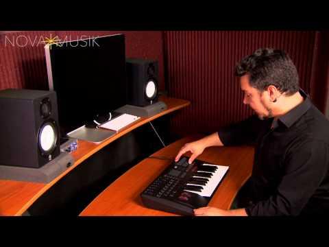 Nova Musik - Korg TRITON taktile overview with Rich Formidoni