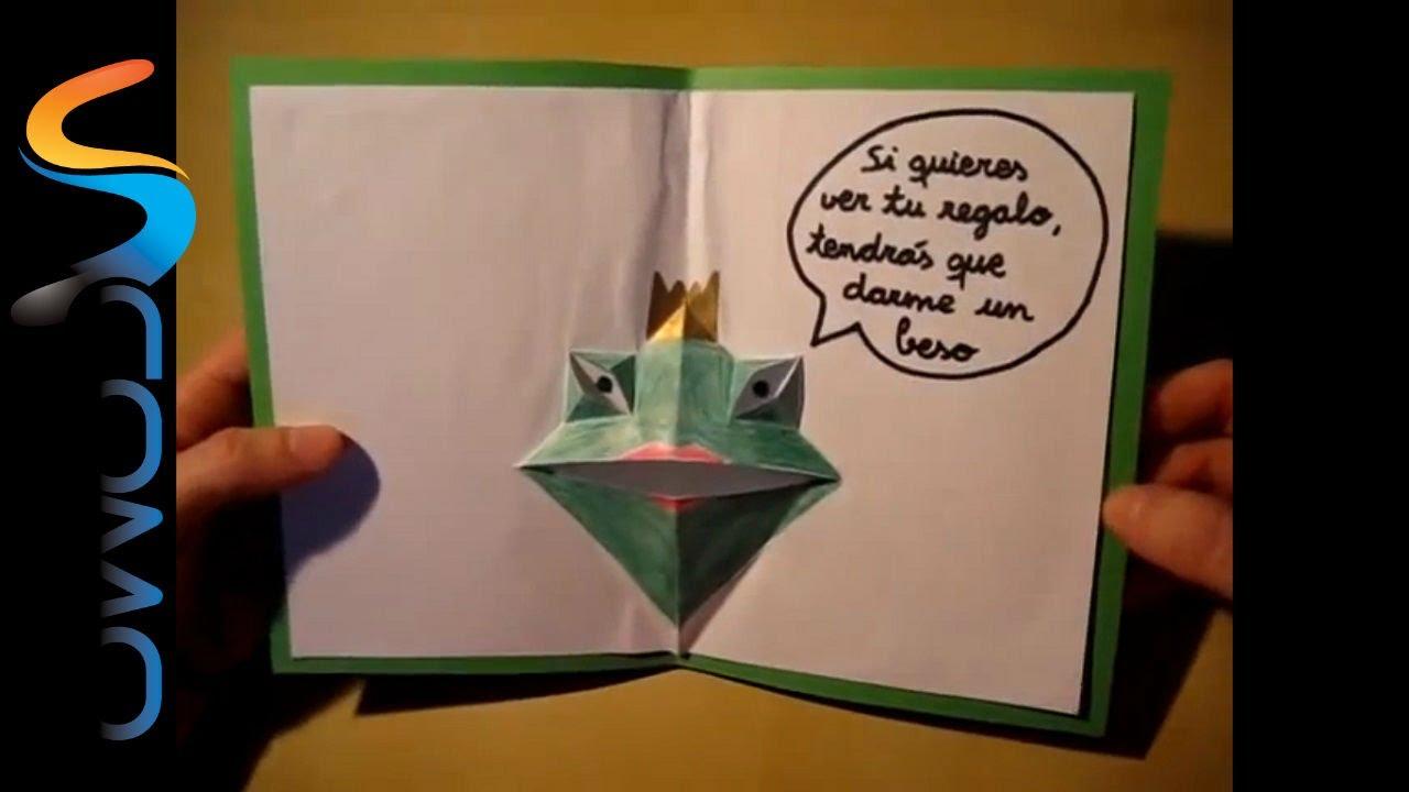 C mo hacer una tarjeta de felicitaci n de cumplea os youtube - Como hacer tarjetas de cumpleanos ...