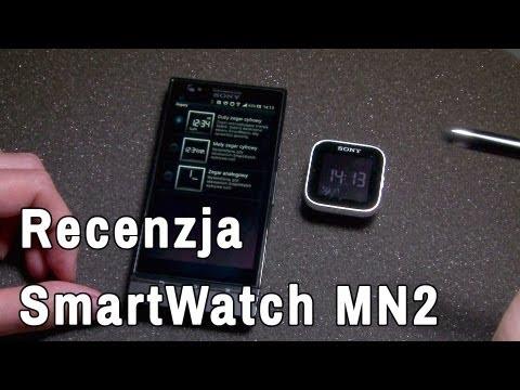 Recencja - inteligentny zegarek Sony SmartWatch MN2