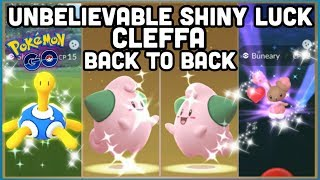 INCREDIBLE SHINY LUCK & BACK TO BACK EGG SHINIES IN POKEMON GO   Nightmare Cup discussion