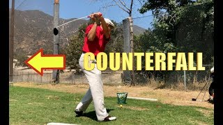 MSE GOLF SWING PRACTICE COUNTERFALL