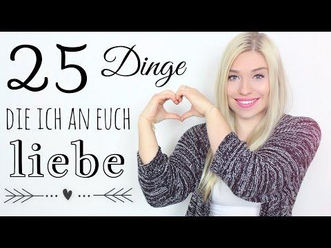 25 Dinge die ich an EUCH LIEBE ❥