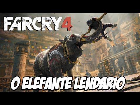 Far Cry 4 Piratas Caçadores - O FIM , Elefante LENDÁRIO, o SETE PELE