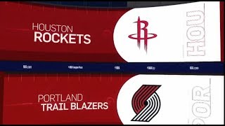 Houston Rockets vs Portland Trailblazers Game Recap | 1/5/19 | NBA
