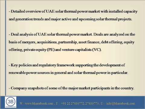 Solar Thermal Power in United Arab Emirates, Market Outlook to 2025
