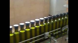Automatic 4 head olive oil filling packaging line