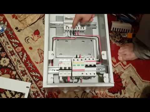 Сборка электрического 3 фазного щита своими руками