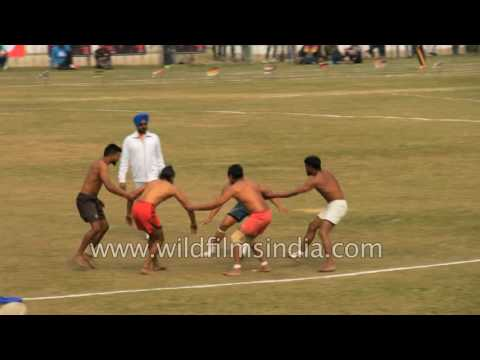 Traditional Indian sport - Kabaddi or Kho-kho?