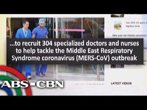 MERS-CoV threat stalks Pinoys in Saudi