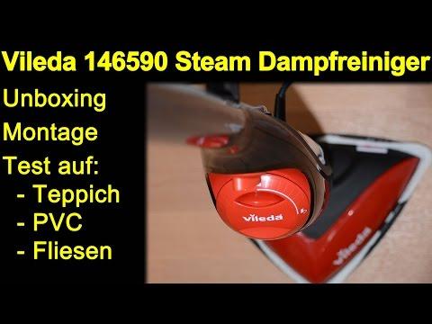 vileda 146590 dampfreiniger mop unboxing montage test. Black Bedroom Furniture Sets. Home Design Ideas