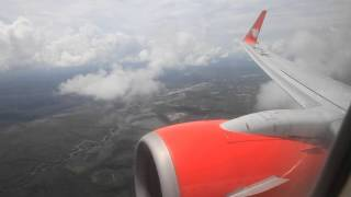 Lion Air PK-LGP takeoff from Tjilik Riwut Airport in Palangkaraya