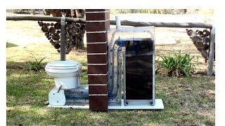 toilet, waterless, urine diversion, dry, eco friendly, no chemicals, odorless, self cleaning