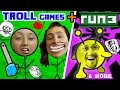TROLLFACE QUEST + RUN 3 w/ FGTEEV Family! (Weird Riddles & Pr...