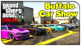 GTA 5 Online - CAR SHOWCASE #5 (Franklin's Buffalo) [GTA V]