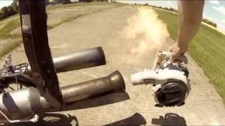 The JET Bicycle   The most dangerous unsafe bike EVER CLIP