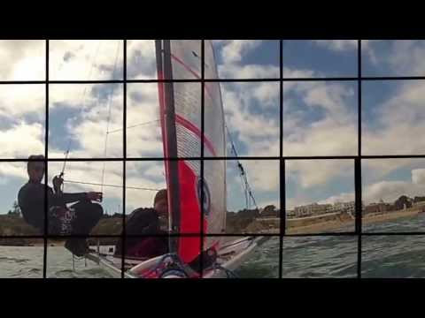 29er sailing light wind