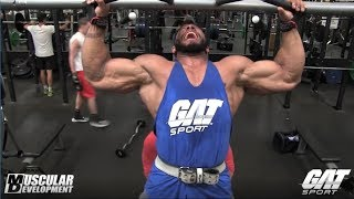 Sergio Oliva Jr Training Series sponsored by GAT | Back Workout Part 2