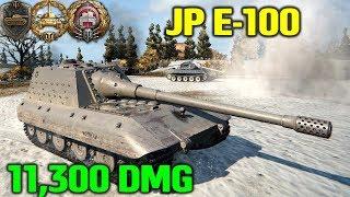 World Of Tanks | Jagdpanzer E-100 - 11300 Damage