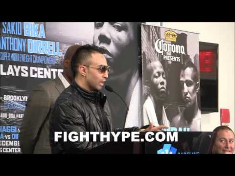 PAULIE MALIGNAGGI TELLS MEDIA HE HAS ENOUGH POWER TO KNOCK EVERYONE OUT BEFORE HOPKINS STEPS TO HIM