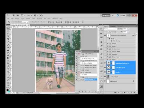 Photoshop хичээл Color+action bonus Material