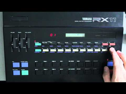 Yamaha RX11 Drum Machine