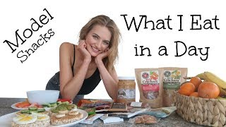 What I Eat In A Day As A Model | SNACK EDITION | Sanne Vloet