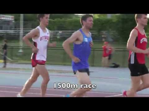 Tommy's 1500m 4:10 Personal Best June 29 2016 at the Ottawa Twilight Meet