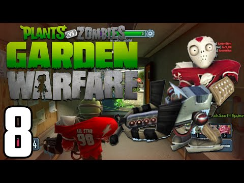 Plants vs Zombies: Garden Warfare: Gardens and Graveyards w/ Zack, Ashley & Mac! - Episode 8