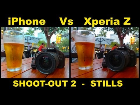 Xperia Z Vs iPhone 5 - SHOOTOUT 2, Stills - Which is Best?